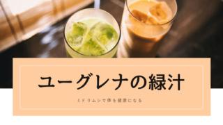 euglena ユーグレナの緑汁